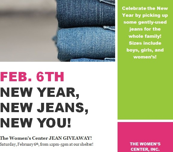 Jean and Coat Giveaway Feb. 6th!